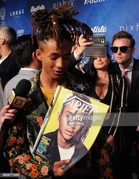 Actors Jaden Smith, Ariel Winter and Sterling Beaumon attend Variety's Power of Young Hollywood event, presented by Pixhug, with Platinum Sponsor...