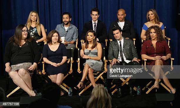 Actors Jadyn Douglas Izzy Diaz Jose Moreno Brooks Amaury Nolasco Alex Meneses and Executive Producers Chrissy Pietrosh and Jessica Goldstein...