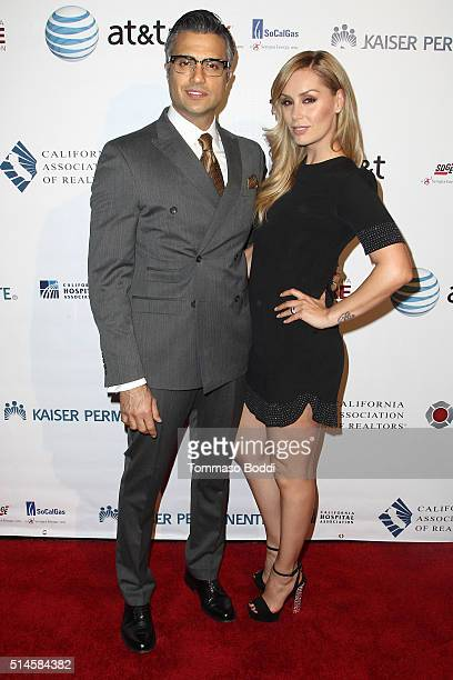 Actors Jaime Camil and Heidi Balvanera attend the California Fire Foundation 2016 Gala at Avalon Hollywood on March 9 2016 in Los Angeles California