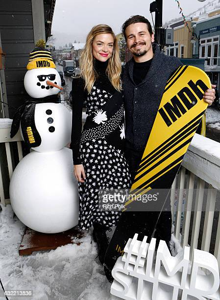 Actors Jaime King and Jason Ritter of 'Bitch' attend The IMDb Studio featuring the Filmmaker Discovery Lounge presented by Amazon Video Direct Day...