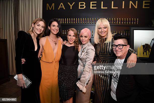 Actors Jaime King Beth Dover Emma Myles Taryn Manning Malin Akerman and Lea DeLaria attend the Entertainment Weekly Celebration of SAG Award Nominees...