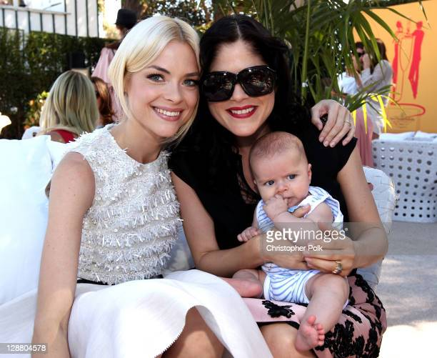 Actors Jaime King, Selma Blair and son Arthur Bleick attend Veuve Clicquot Polo Classic Los Angeles at Will Rogers State Historic Park on October 9,...
