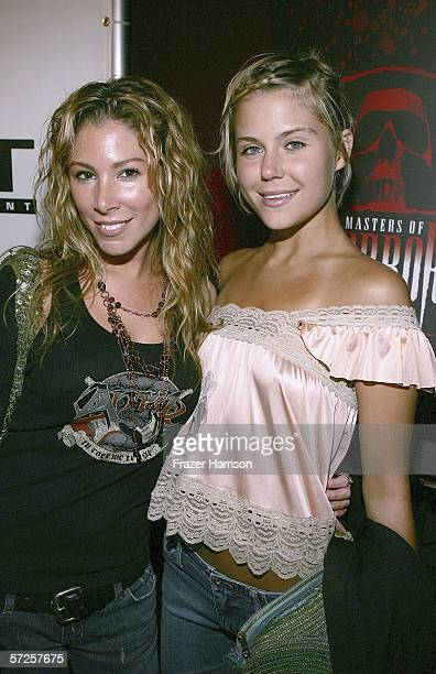 Actors Jaine Michaels and Julie Huget arrive at the Launch Party For Showtime's season 2 Masters Of Horror held at Ivar Club on April 5 2006 in...
