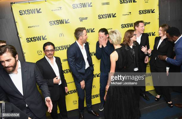 Actors Jake Gyllenhaal Hiroyuki Sanada and Ryan Reynolds Director Daniel Espinosa actress Olga Dihovichnaya Producers Dana Goldberg and David Ellison...