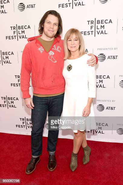 """Actors Jake Lacy Mary Kay Place and attend a screening of """"Diane"""" during the 2018 Tribeca Film Festival at SVA Theatre on April 22, 2018 in New York..."""