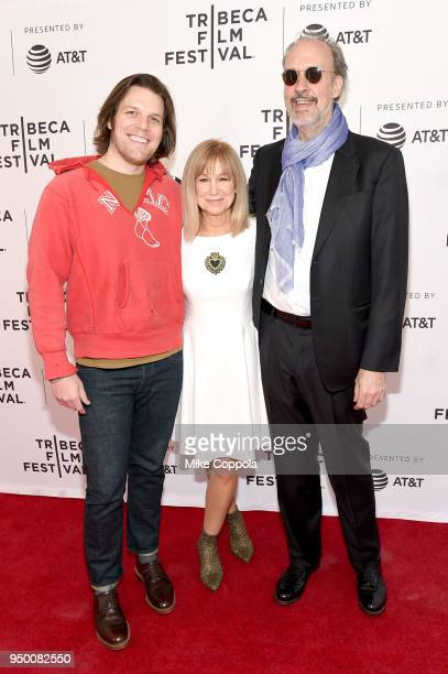 Actors Jake Lacy Mary Kay Place and director Kent Jones attend a screening of 'Diane' during the 2018 Tribeca Film Festival at SVA Theatre on April...