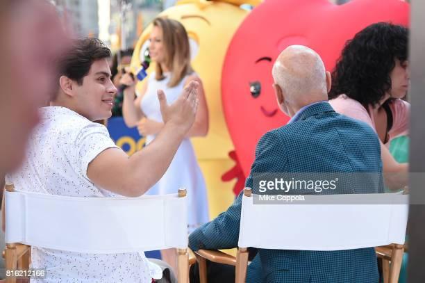 The Cast Of The Emoji Movie Celebrates World Emoji Day On
