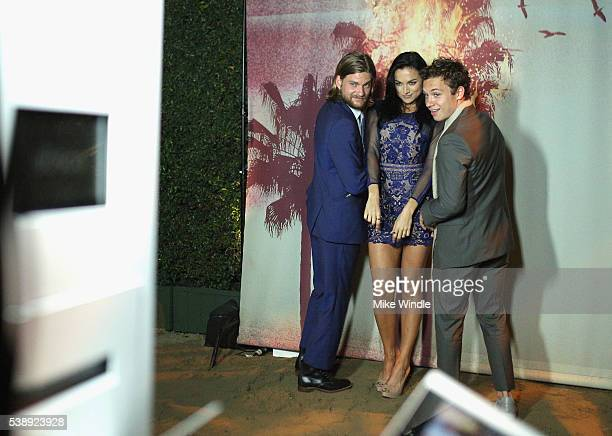 Actors Jake Weary Christina and Finn Cole attend the TNT Animal Kingdom S1 Premiere on June 8 2016 in Venice California 26227_001