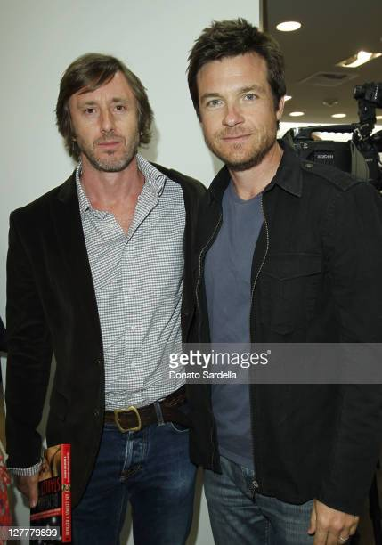 Actors Jake Weber and Jason Bateman attend Beneath A Starlet Sky Book Signing At Saks Fifth Avenue Beverly Hills on May 6 2011 in Beverly Hills...