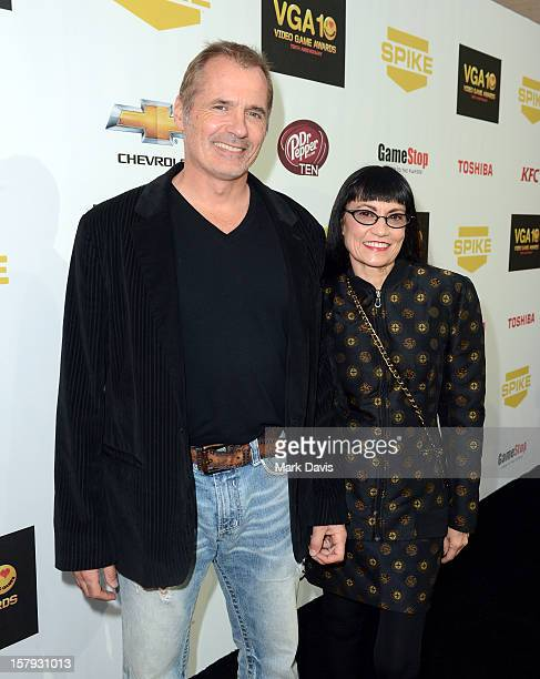 Actors James C. Burns and Nancye Ferguson arrive at Spike TV's 10th annual Video Game Awards at Sony Pictures Studios on December 7, 2012 in Culver...