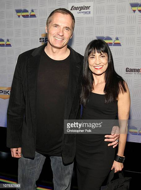 Actors James C Burns and Nancye Ferguson arrive at Spike TV's 2010 Video Game Awards held at the LA Convention Center on December 11 2010 in Los...