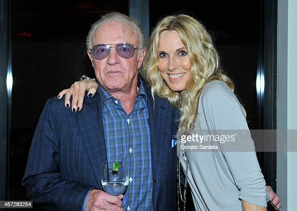 Actors James Caan and Alana Stewart attend a private dinner hosted by Mark Lee and Barneys New York for HOLA Heart of Los Angeles at Barneys New York...