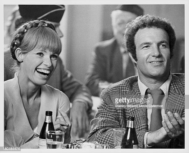 Actors James Caan and Louise Lasser in a scene from the movie 'Slither' 1973