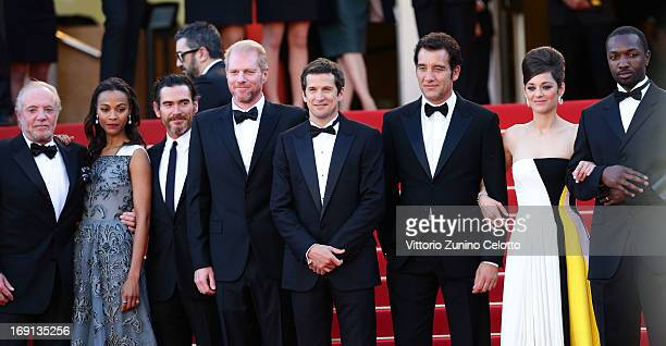Actors James Caan Zoe Saldana Billy Crudup and Noah Emmerich director Guillaume Canet and actors Clive Owen Marion Cotillard and Jamie Hector attend...