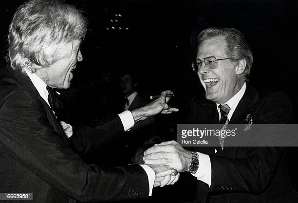 Actors James Coburn and Robert Culp attending 31st Annual Director's Guild of America Awards on March 10 1979 at the Beverly Hilton Hotel in...