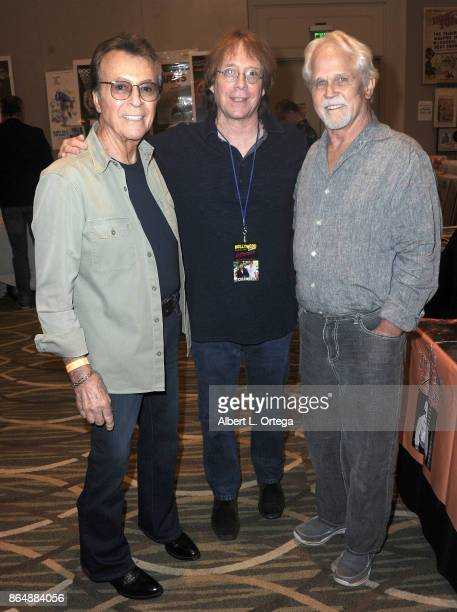 Actors James Darren Billy Mumy and Tony Dow at The Hollywood Show held at Westin LAX Hotel on October 21 2017 in Los Angeles California