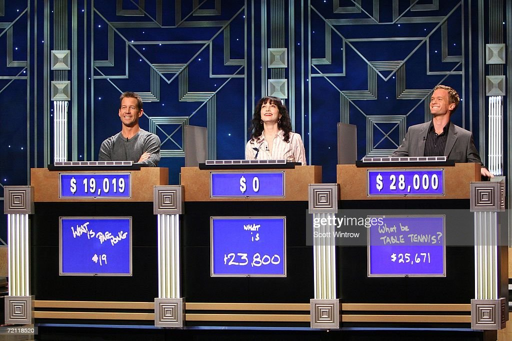 Celebrity Jeopardy Comes To Radio City Music Hall : News Photo