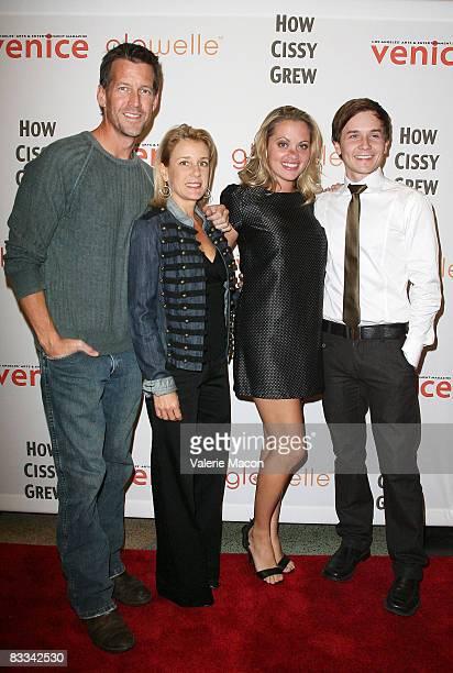"Actors James Denton, Erin J. O'Brien, Liza Vital and Stewart Calhoun arrive at the premiere of the play ""How Cissy Grew"" at the El Portal Forum..."