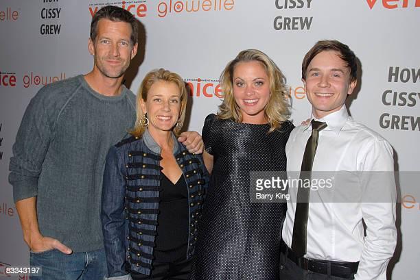 "Actors James Denton, Erin O'Brien Denton, Liz Vital and Stewart W. Calhoun attend ""How Cissy Grew"" performance at El Portal Forum Theatre on October..."