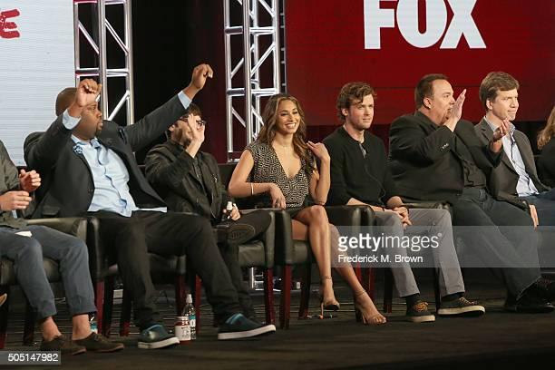 Actors James Earl Charlie Saxton Meaghan Rath Jack CutmoreScott Creator/Executive Producer Jay Lacopo and Executive Producer Bill Callahan speak...