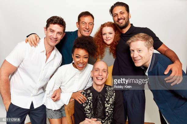 Actors James Frain Jason Isaacs Mary Wiseman Shazad Latif and Anthony Rapp Actors Sonequa MartinGreen and Doug Jones from CBS' 'Star Trek Discovery'...