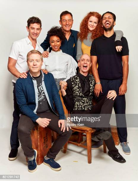 Actors James Frain Sonequa MartinGreen Jason Isaacs Mary Wiseman and Shazad Latif Actors Anthony Rapp and Doug Jones from CBS' 'Star Trek Discovery'...