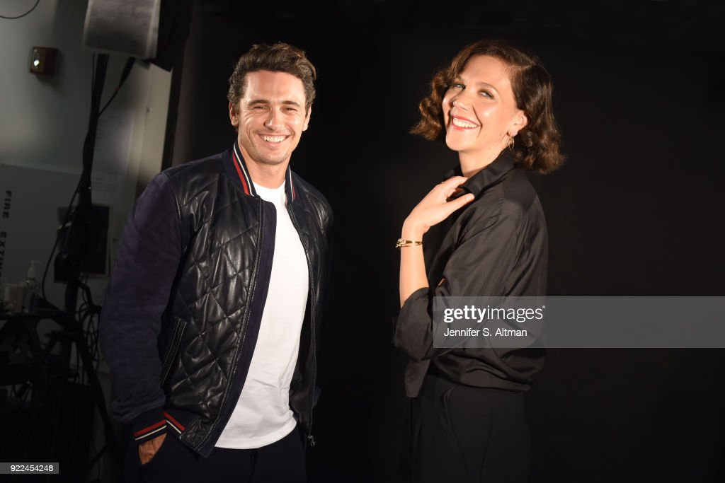 Actors James Franco and Maggie Gyllenhaal are photographed for USA Today on September 6, 2017 in New York City.