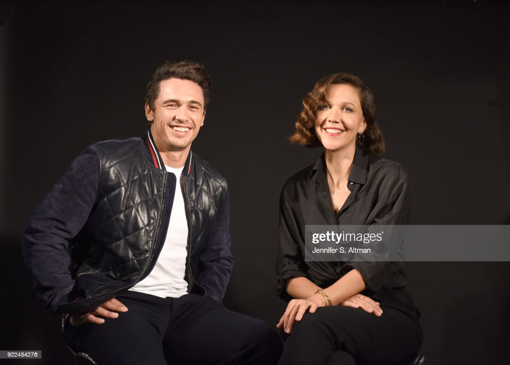 Maggie Gyllenhaal and James Franco, USA Today, September 8, 2017