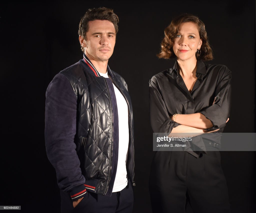 Maggie Gyllenhaal and James Franco, USA Today, September 8, 2017 : News Photo