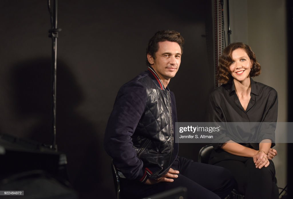 Maggie Gyllenhaal and James Franco, USA Today, September 8, 2017 : Nachrichtenfoto