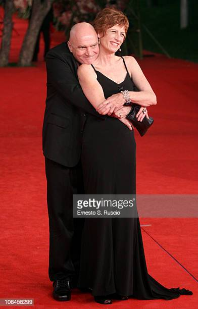 Actors James Hagan and Nicola Bartlett attend the Little Sparrows premiere during the 5th International Rome Film Festival at Auditorium Parco Della...