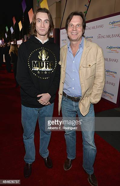 """Actors James Paxton and Bill Paxton attend the U.S. Premiere Of Disney's """"Saving Mr. Banks"""" at Walt Disney Studios on December 9, 2013 in Burbank,..."""