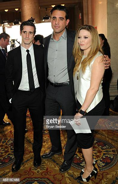 Actors James Ransone Bobby Cannavale and Natasha Lyonne attend the 2013 Gotham Independent Film Awards Sponsored by FIJI Water on December 2 2013 in...
