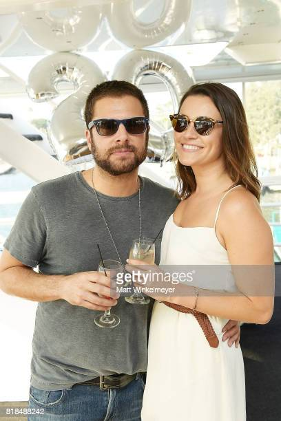 Actors James Roday attends Steve Howey's Surprise 40th Birthday Party on July 16 2017 in Los Angeles California