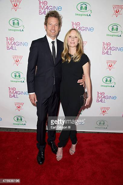 Actors James Tupper and Anne Heche attend The Imagine Ball at House of Blues Sunset Strip on June 4 2015 in West Hollywood California