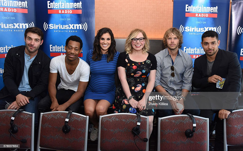 SiriusXM's Entertainment Weekly Radio Channel Broadcasts From Comic-Con 2016 - Day 1 : News Photo
