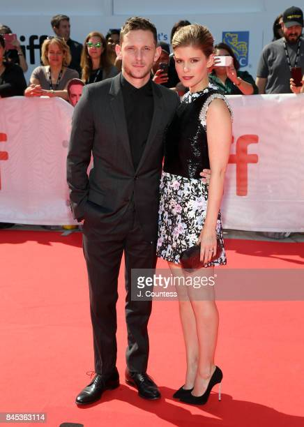Actors Jamie Bell and Kate Mara attend the premiere of 'Chappaquiddick' during the 2017 Toronto International Film Festival at Roy Thomson Hall on...