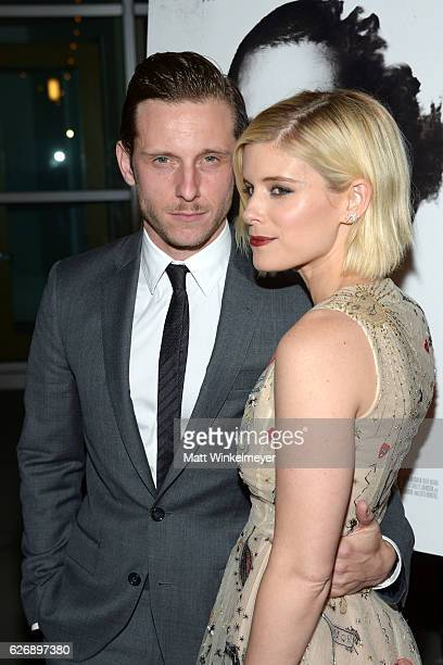 Actors Jamie Bell and Kate Mara attend the premiere of Lionsgate Premiere's Man Down at ArcLight Hollywood on November 30 2016 in Hollywood California