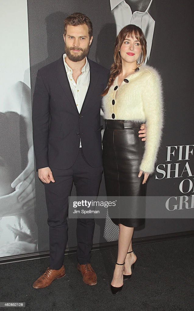 'Fifty Shades Of Grey' New York Fan First Screening - Outside Arrivals : News Photo