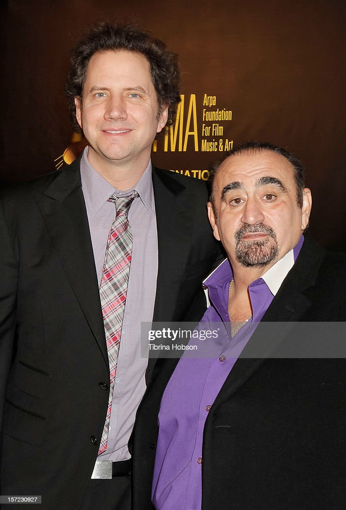 Actors Jamie Kennedy (L) and Ken Davitian attend the 'Lost And Found In Armenia' Los Angeles premiere at the Egyptian Theatre on November 29, 2012 in Hollywood, California.