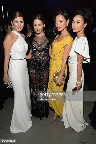 Actors JamieLynn Sigler Ashley Tisdale Jamie Chung and Cara Santana attend The Art of Elysium 2016 HEAVEN Gala presented by Vivienne Westwood Andreas...