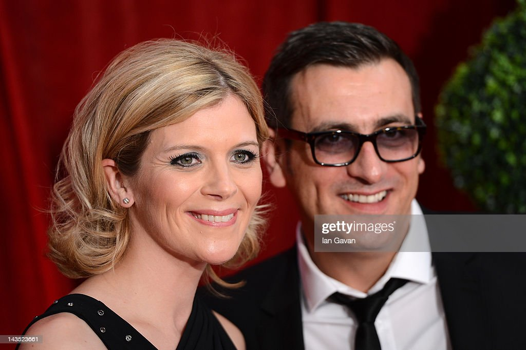 Actors Jane Danson and Chris Gascoyne attend The 2012 British Soap Awards at ITV Studios on April 28, 2012 in London, England.