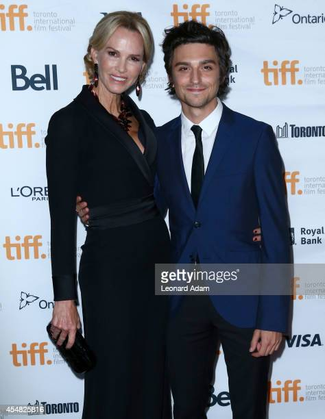 Actors Janet Jones and Jacob Loeb attend the The Sound And The Fury Premiere during the 2014 Toronto International Film Festival at Ryerson Theatre...