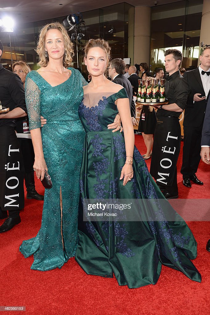 Actors Janet McTeer and Rebecca Ferguson attend the 71st ...