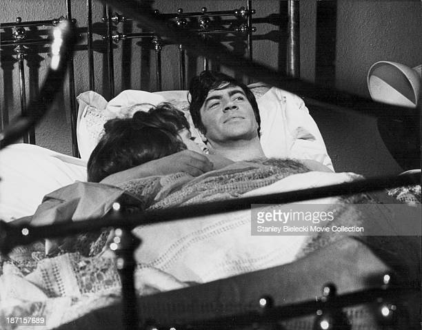 Actors Janet Suzman and Alan Bates in a scene from the film 'A Day in the Death of Joe Egg' 1972