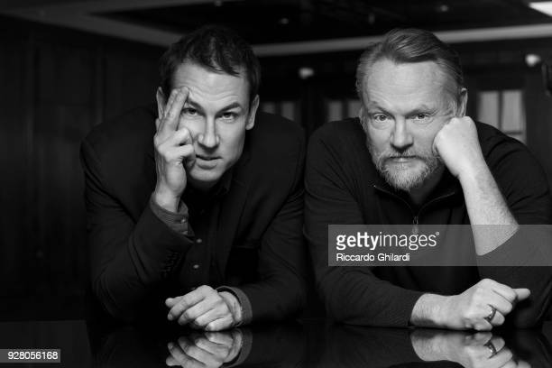 Actors Jared Harris and Tobias Menzies poses for a portrait during the 68th Berlin International Film Festival on February 2018 in Berlin Germany