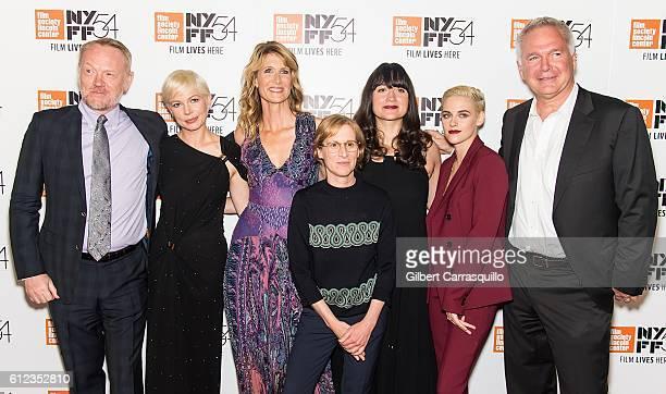 Actors Jared Harris Michelle Williams Laura Dern director Kelly Reichardt Lily Gladstone Kristen Stewart and guest attend the 'Certain Women'...