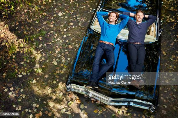 Actors Jared Padalecki and Jensen Ackles are photographed for Entertainment Weekly Magazine on August 23 2016 in Los Angeles California