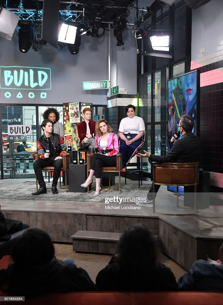 Celebrities Visit Build - February 20, 2018 : News Photo