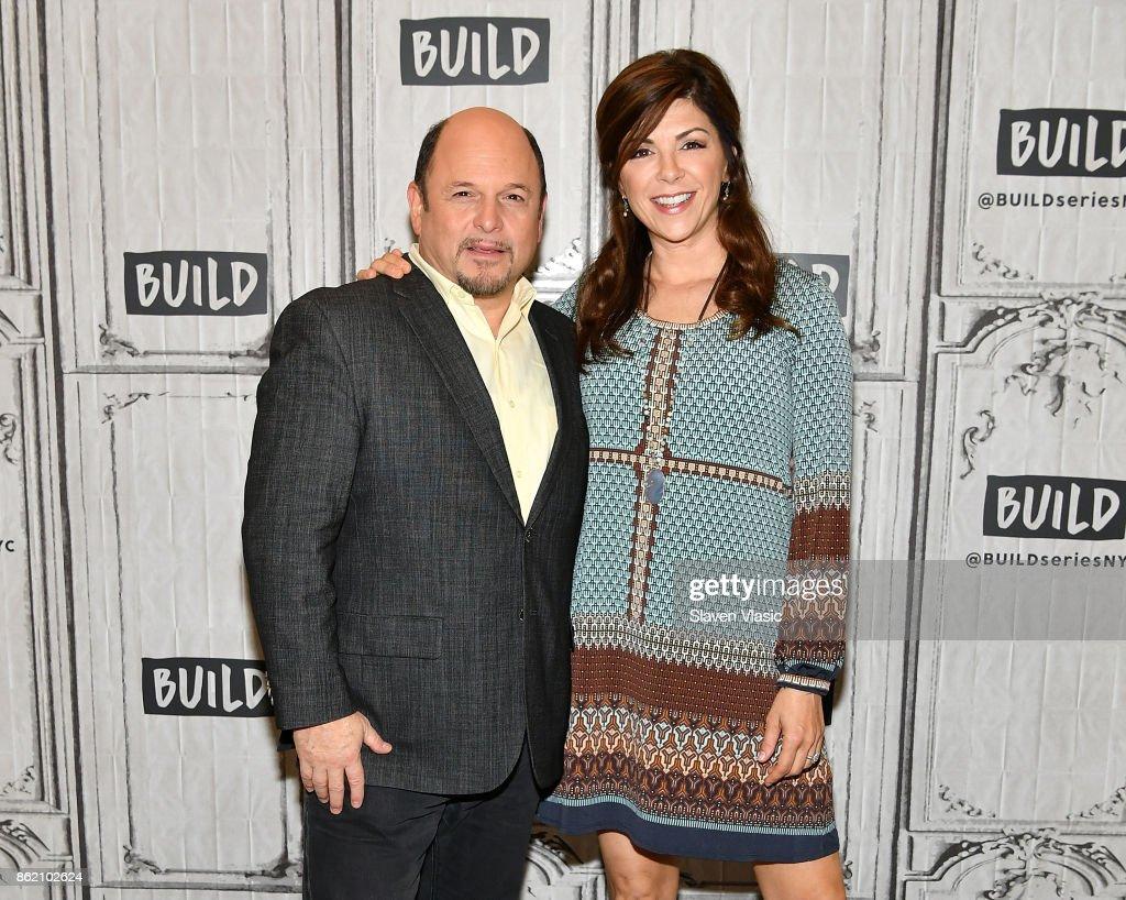 "Build Presents Jason Alexander & Amy Pietz Discussing ""Hit The Road"""